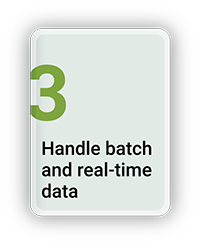 Handle Batch and Real Time Data