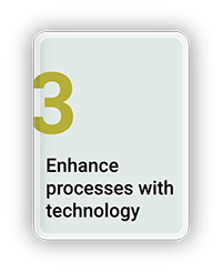 Enhance Process with Technology