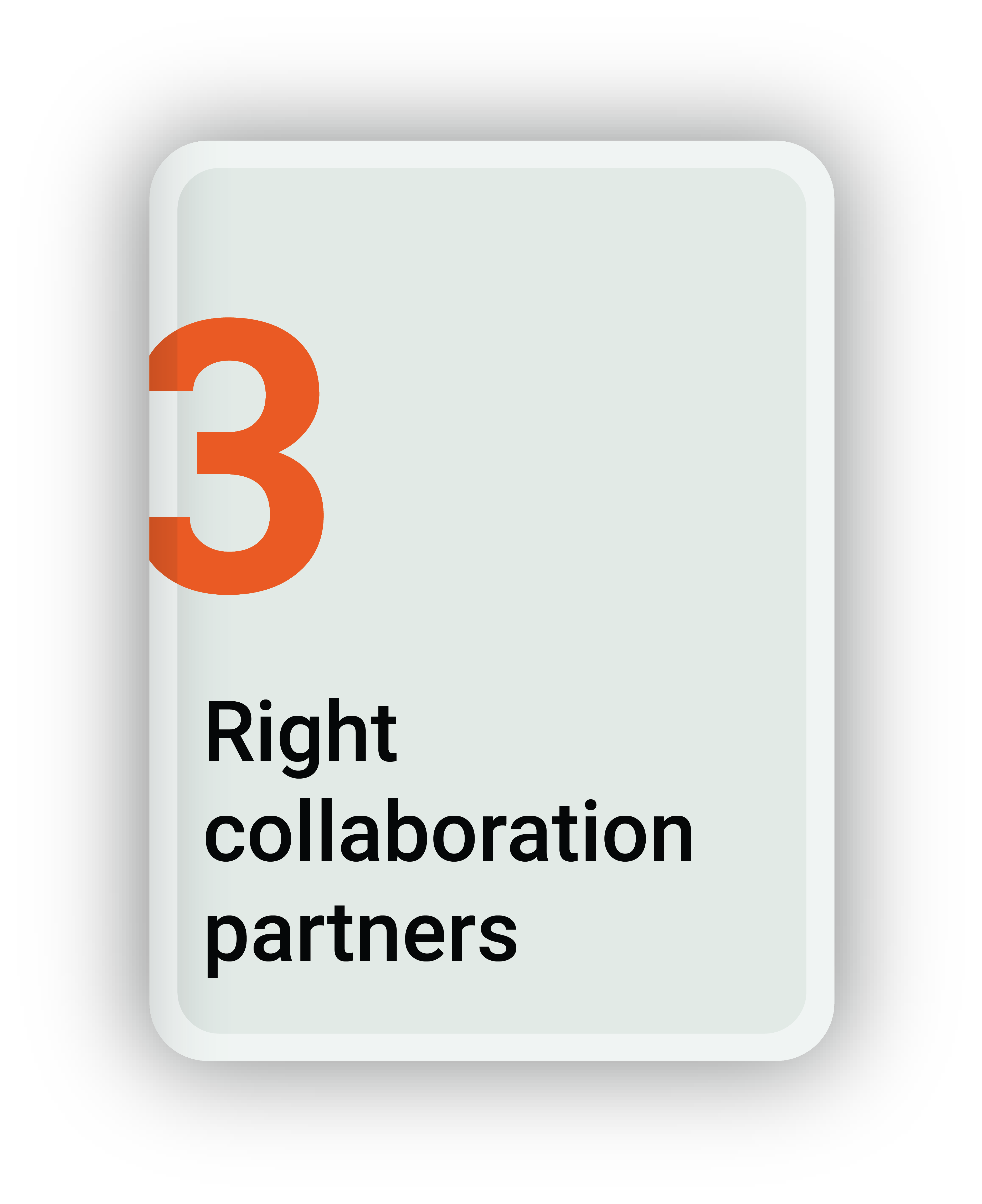 Right Collaboration Partners