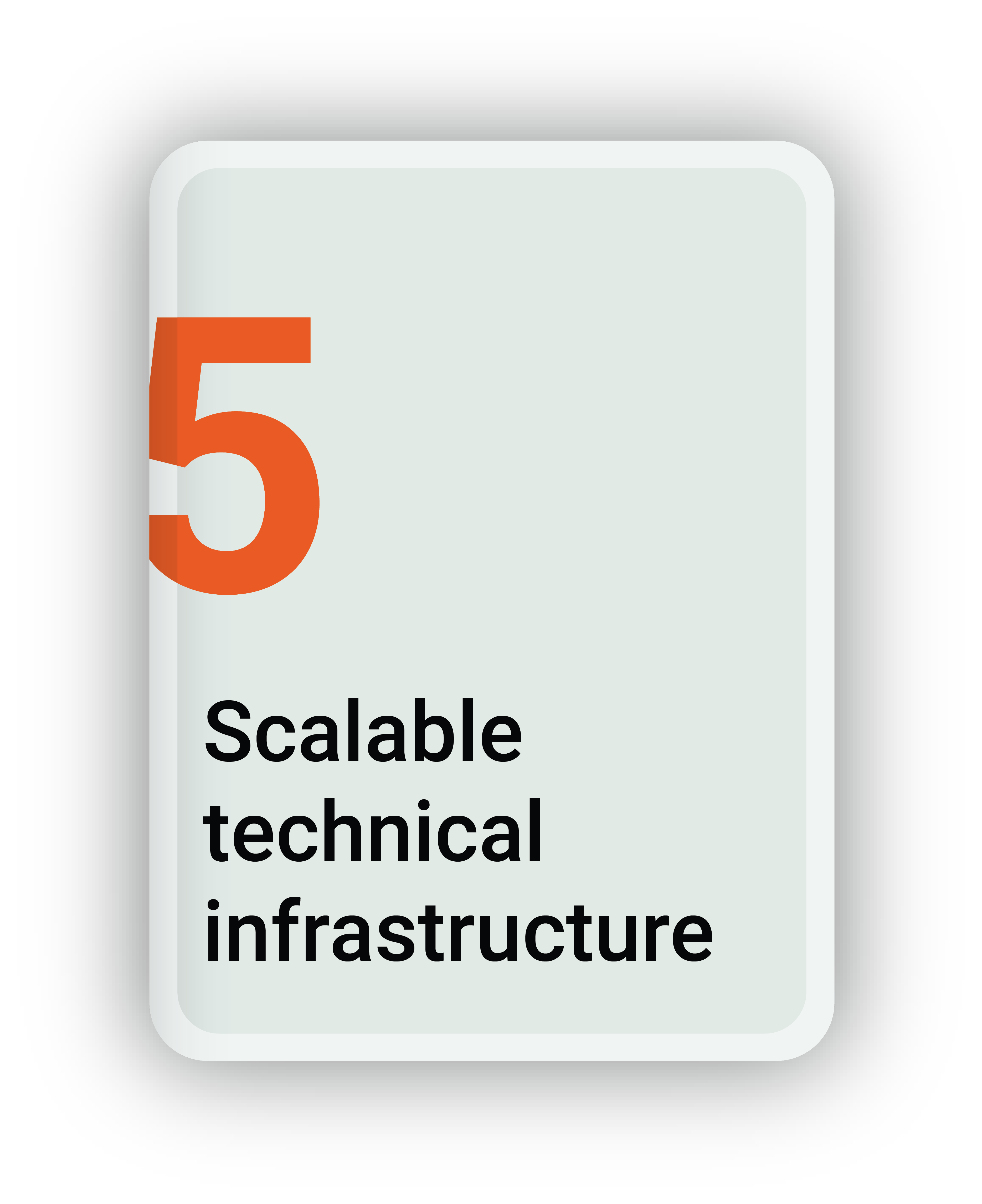 Scalable Technical Infrastructure